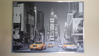 "cuadro+marco ""Time Square New York"" de Ikea"