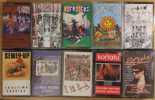 cassettes punk coleccionismo
