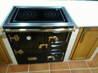 cocina de leña abierta