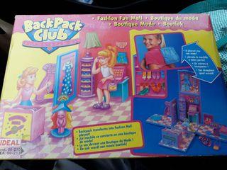 mochila juguete tipo Polly Pocket