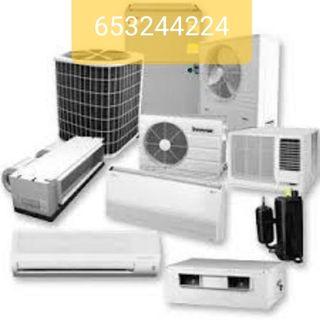 Aire acondicionado,electricidad,equipos industrial