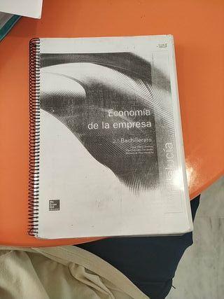 libro economia de la empresa 2 bachillerato