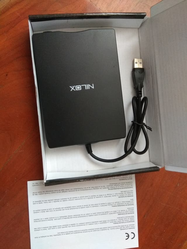 Unidad externa disquetes NUEVA
