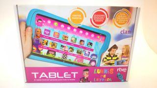 Tablet RTVE CLAN LUNNIS DE LEYENDA