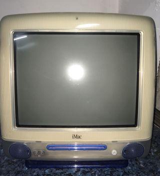 Ordenador iMac Apple clásico retro