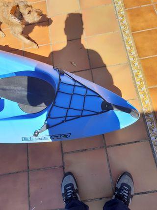 kayak vic Bilbao, una plaza, incluye pala