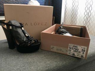 Zapatos Pura López talla 39 nuevos! A estrenar!