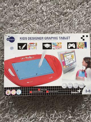 Tableta de diseñador niños