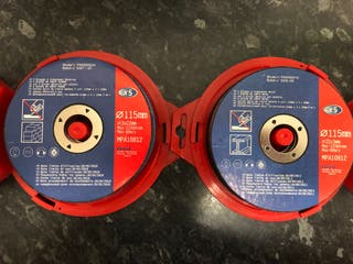 Mini Amoladora disco 115mm 500w (Nueva)