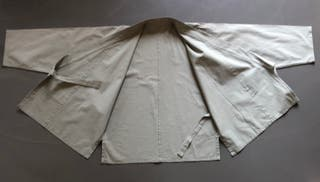 Veste kimono samue kaki clair unisex Taille L