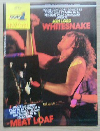 Revista Popular 1 A 52 Whitesnake