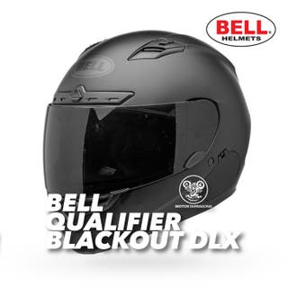 Casco Bell Qualifier DLX Blackout