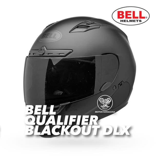 Casco Bell Qualifier DLX Blackout
