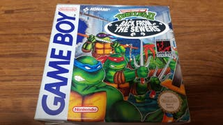 Tortugas Ninja 2 Game Boy