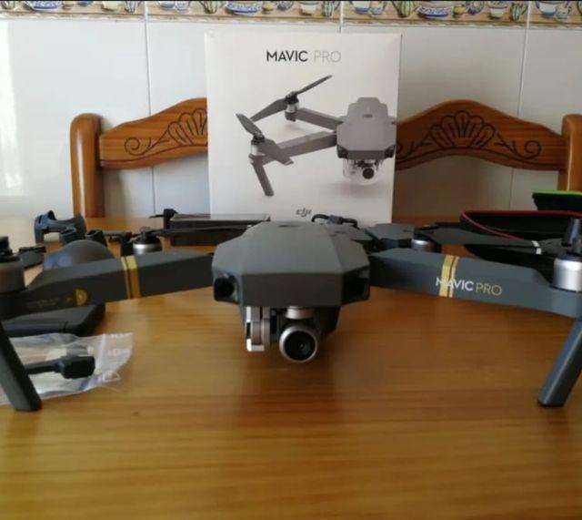 dron alquiler dji mavic pro