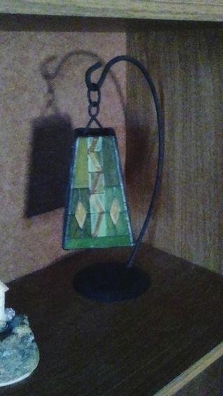 Hand made tea light holder