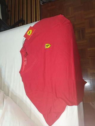 camiseta talla L Ferrari