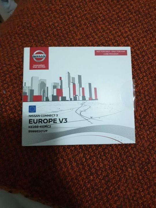 Tarjeta SD #Navegador #Nissan Connect 3 Europe V3 de segunda mano