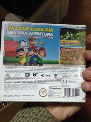 Carlitos y Snoopy Nintendo 3DS 2DS