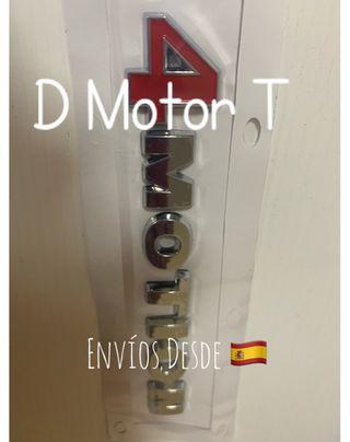 Anagrama VW 4 Motion