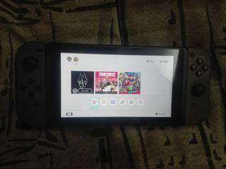 Nintendo switch con juego
