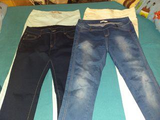 Vendo 4 pares de pantalones
