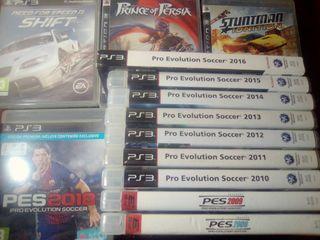 Coleccion todos los juegos, Pes 2018 PS3