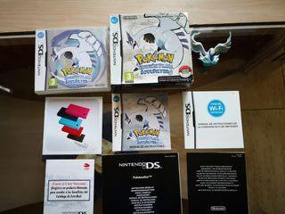 Se vende Pokémon Soul Silver + figura Lugia