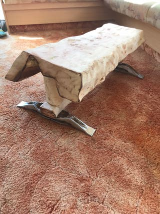 Unique home made coffee table