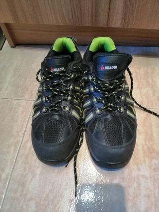 Zapatos de seguridad Bellota t41