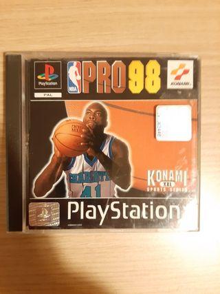 Pro98 KONAMI, PlayStation 1