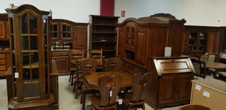 Mesas Sillas Alacenas Comedores Bibliotecas