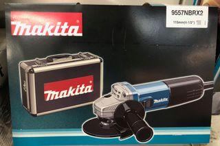MAKITA AMOLADORA 115+ MALETIN 9557NBRX2-840 -