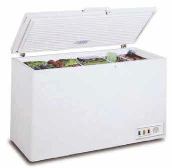 Congelador horizontal tapa abatible