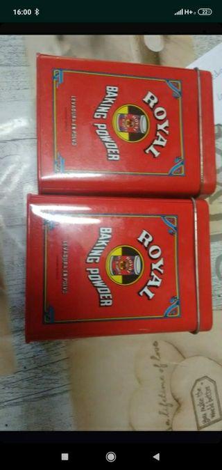 latas de royal puedes usarlas para guardar cosas