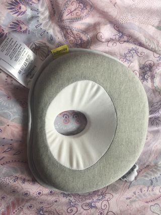 Almohada bebés (prevención cabezota plana)