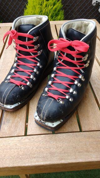 botas de esqui antiguas