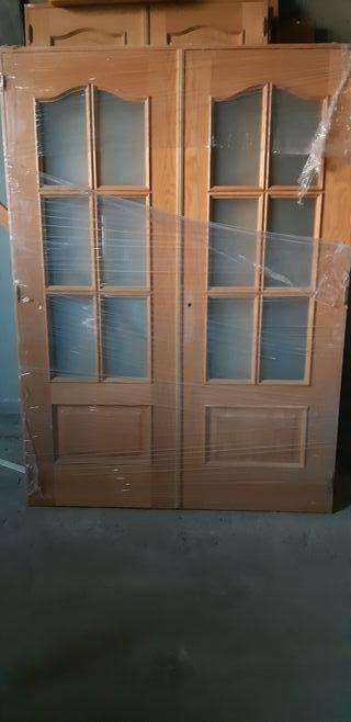 puerta salon vidriera