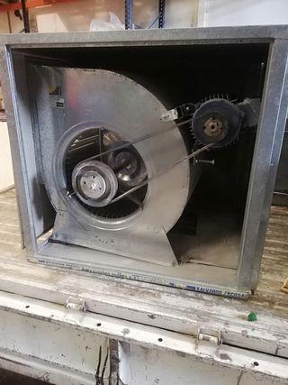 caja extractora campana hostelería