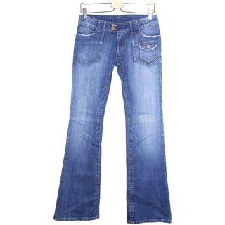 Pantalon en jean / femme