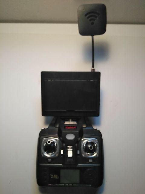 Drone syma x5c con kit fpv
