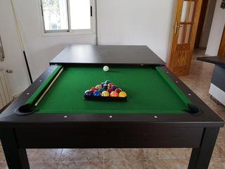 mesa salón billar convertible