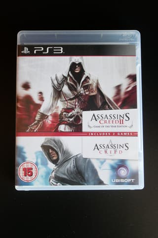 Assassin´s Creed 1 y 2 PS3
