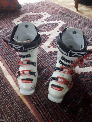 Botas de esqui de competicion
