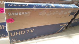 "¡Oferta! Tv Samsung UDH 4K 50"""
