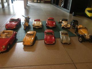 Colección maqueta coches