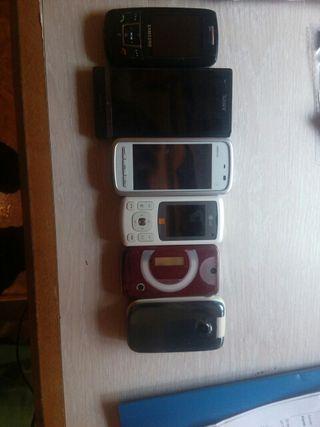 vendo telefonos antiguos funcionan