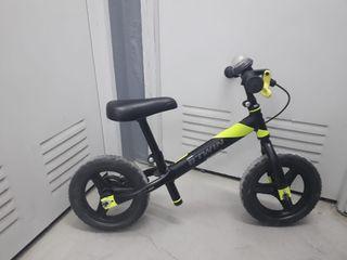 Bicicleta Btwin sin pedales niñ@