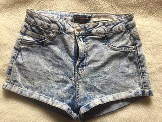 Pantalones cortos vaqueros (Tallaje alto)