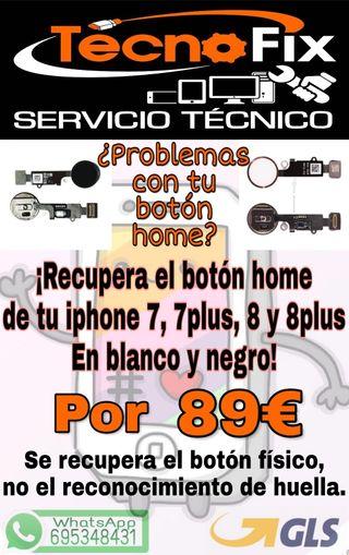 RECUPERACIÓN BOTÓN HOME IPHONE